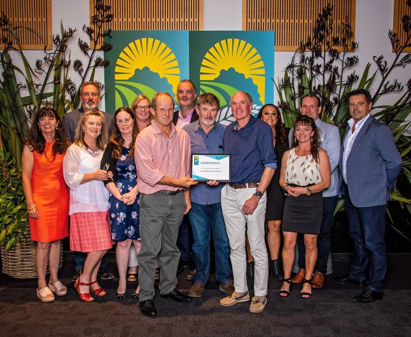 OneFortyOne Kaituna Sawmill wins the Cawthron Marlborough Environment Award for Forestry